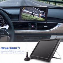 LEADSTAR 12 inch Digitale Analoge Televisies DVB-T-T2 Draagbare TV voor Home Auto Vliegtuig EU Plug 110-220 v(China)