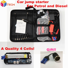 High Quality Super Capacity Multi-Function 12V Car Jump Starter Car Emergency Auto Battery Power Bank SOS Lights Car Charger(China)