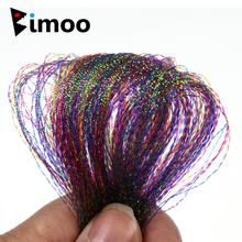 Tailing Bimoo Flash Fly-Tying Rainbow for Treble Krystal 6-Bags Pearlcent-Twisted