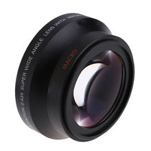 New 67mm Wide Angle Camera Lens Macro Conversion Lens 0.43x with Front Lens Cap Rear Cap Lens Bag for Nikon D80 D90 D5000 D7000