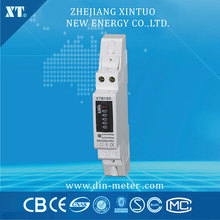 5(32)A 230V 50HZ Single phase Din rail KWH Watt hour din-rail energy meter LCD Counter Digital Wattmeter(China)