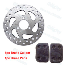 120mm Brake Disc Rotor + Brake Pads 47cc 49cc Scooter Pocket Bike Mini Dirt ATV Quad Motorcycle