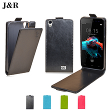 HOMTOM HT16 Leather Case Flip Cover For HOMTOM HT16 5.0 inch Protective Phone Cover Luxury J&R Vertical Mobile Phone Bag & Cases