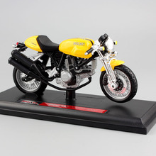 1:18 scale Child Sport 1000 superbike metal diecast motorcycle racing moto cars styling model auto Toys Collection for boys kid(China)