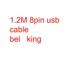 100 pcs Mixit USB Data Cable Sync Charger Adapter 8Pin Type c 1.2 M/4 FT Cable for mp3 mp4 pc table notebook