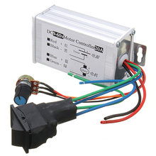 Hot Sale DC 12V 24V 36V 48V SoftStart Reversible Motor Speed Control PWM Controller PWM Newest  HOT