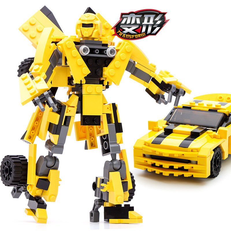 221pcs-2-In-1-Transformation-Series-Building-Blocks-Model-Toys-Robot-Vehicle-Sports-Car-Gudi-8711 (1)