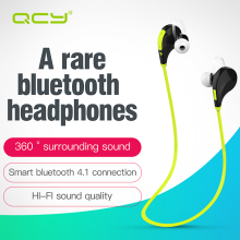 QCY QY7 sports wireless bluetooth 4.1 EDR headphones stereo earphones headset with MIC call earbuds for iPhone 7 Android Phone