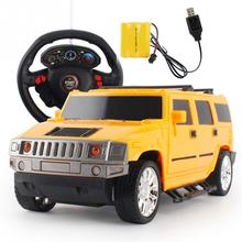 1:18 Electric Steering Wheel Four-channel Remote Control Car Gravity Sensor Simulation RC Car(China)