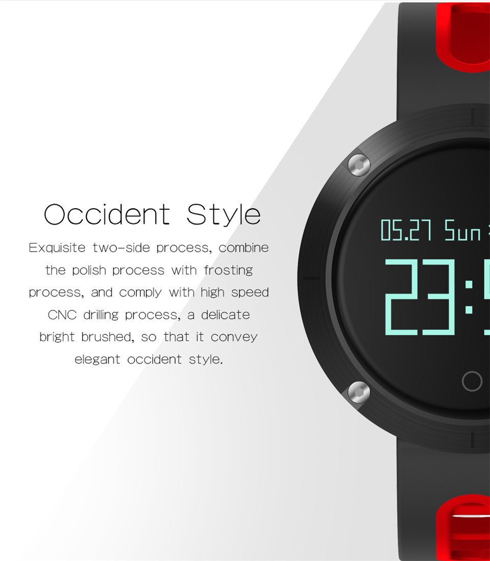 Teyo Heart Rate Monitor Smart Band Fitness Bracelet Blood Pressure Sleep Tracker Pedometer Bluetooth Wristband For Android IOS 6