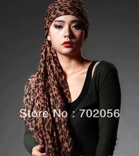 new fashion leopard voild viscose Scarf Sarongs Hijabs Bandanas wrap shawl poncho 180*80cm 12pcs/lot #3369