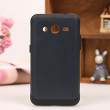 1pcs/lot Slim Shell Armor Case Cover for Samsung Galaxy core 2 G355H Ultra Thin Color Phone Back Bag