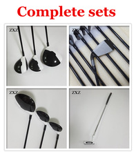 lady or men golf driver 1 wood + fairways wood 3 5 +golf irons for G30 R15 M2 M1 aeroburneo 917D2 golf clubs  complete sets