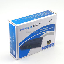 Freesat  V7 HD PVR FTA DVB-S2 Satellite Receiver+ Wifi adapter, Support PowerVu Biss Key Cccamd Youtube Youporn