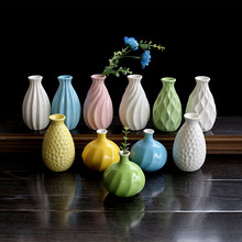 European ceramic vase household decoration manufacturer wholesale creative home crafts flower implement furnishing articles(China)