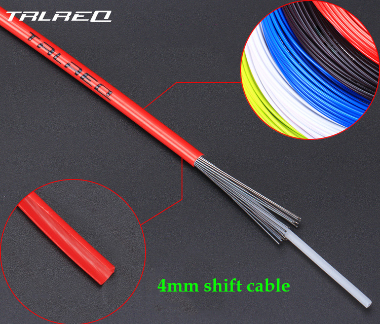 Brake Cable Housing 3 Meters PVC High Hardness Cable Hose Tube for Mountain Bike