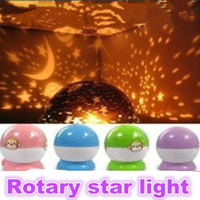 Romantic star sky projector Night light Starry Star Moon light for baby kid bedroom home decor birthday gift