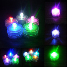 2017 HOT LED Candle Submersible Battery Operated Tea Lights Floralyte Party Wedding