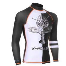 DiveSail men rash guards shirts swimsuit UPF 50+ UV protection rashguard swim shirt