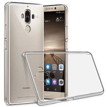 Transparent Crystal Hard Pc Plastic Clean Back Case Cover For Huawei P6 P7 P8 P9 Lite Plus Mate 7 8 9 Mate9 Pro Nova Phone Bags