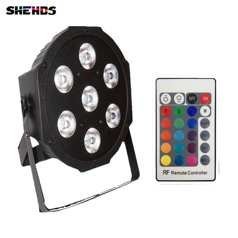 Wireless remote control American DJ LED SlimPar 7x9W RGB 3IN1 LED DJ Wash Lighting for Disco DJ Party Free shipping<br>