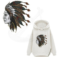20*23cm DIY Printed The Indian Avatar T-shirt Sweater thermal transfer paper iron on patch Patches for clothing