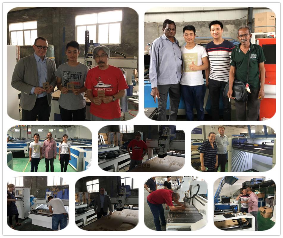 client visit acctek factory