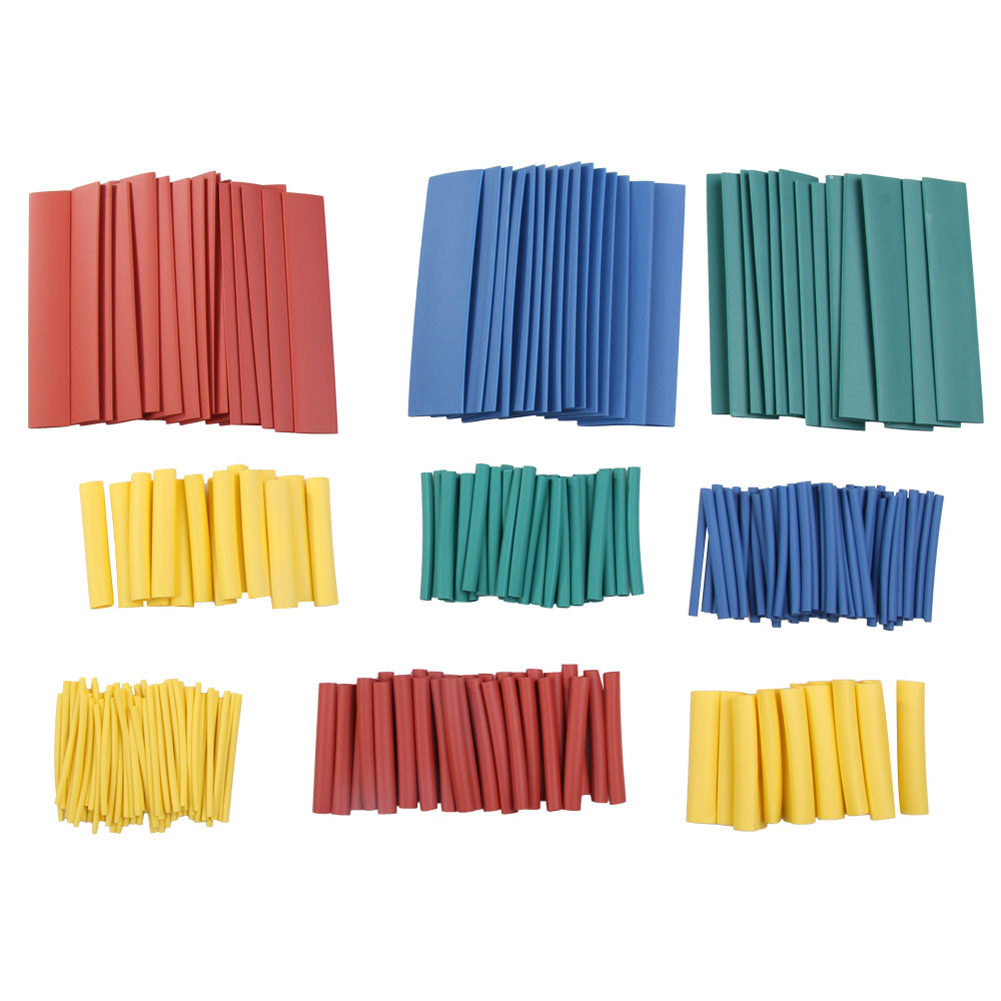 Cost-effective 260pcs 8Size Assortment 2:1 Heat Shrink Tubing Tube Sleeving Wrap Wire Cable CA1T<br><br>Aliexpress