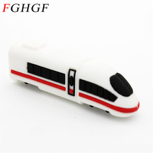 FGHGF New High-speed rail Train USB Flash drive Motor car locomotive pen drive moto pendrive 2gb 4gb 8gb16gb 32gb u disk(China)
