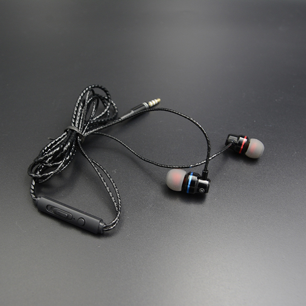 YTOM CT1 3.5mm Metal Earphone For IPhone Xiaomi Samsung Headset With Mic Frequency Range18HZ-20000HZ 56#