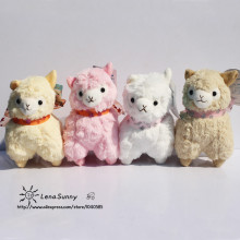 10Pcs/Lot  Alpacasso Christmas Gifts Toys ,12CM Arpakasso Alpaca Stuffed Animals Sheep Plush Toys Soft Doll ,Kids Toys
