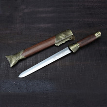 collection Chinese handmade tanto short sword home decor stainless steel sword