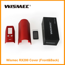 Clearence ! Wismec Reuleaux RX200 Front&Back Cover Replacement Case For RX 200 mOD Vaporizer Accessories E-Cigarette