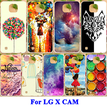 AKABEILA Cell Phone Case For LG X Cam F690 K580 K580Y X-cam K580 K580DS Cover Painted H Series Pattern Hard Shell Soft TPU Cover(China)