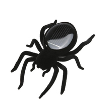2017 New Creative Mini Solar Powered Spider Robot Insect Toy Fun Gift Baby Kid Gags & Practical Jokes Toys(China)