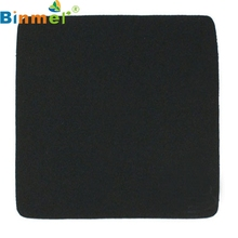 Binmer Mecall Tech New 22*18cm Universal Mouse Pad Mat for Laptop Computer Tablet PC BlackFree Shipping(China)