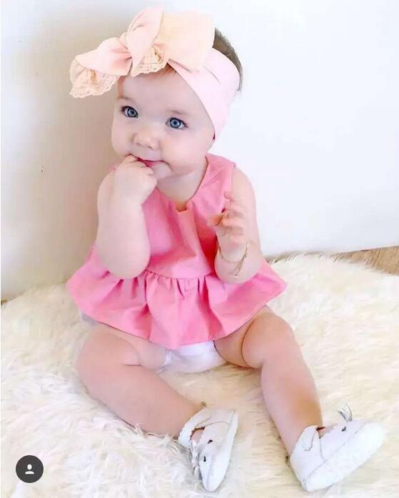 Baby Girl Rompers Summer Toddler Jumpsuit Newborn Clothes Body Suits pink cotton romper  Baby Clothing Costumes Outfits<br><br>Aliexpress