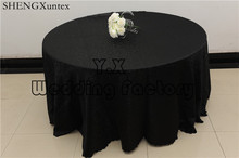 Nice Looking Round Table Cloth \ Damask Tablecloth For Wedding Decoration