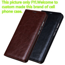 ND13 genuine leather flip cover for Samsung Galaxy C5 phone case for Samsung Galaxy C5000 phone cover free shipping