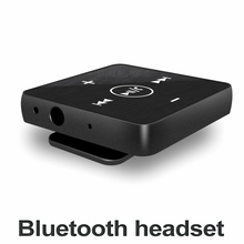Mini clip on bluetooth headset wireless earphone headphone with microphone stereo earpiece Bluetooth earbuds