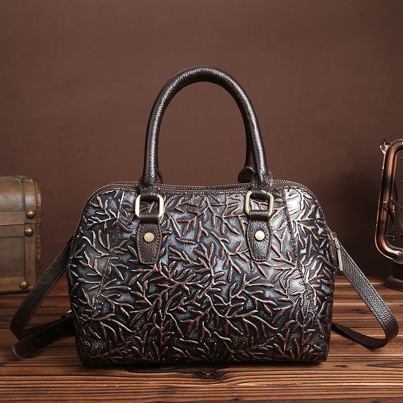 Factory wholesale ladies Satchel Bag retro casual fashion leather handbag leather messenger bag tide<br><br>Aliexpress
