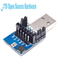 CP2102 2.4G 433M Wireless Serial Port Module USB Transfer TTL Communication Brush Module USB Adapter Board(China)