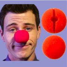 "2"" (5cm) Red Sponge Clown Nose/Sponge Ball Magic Tricks Stage Street Bar Accessories Gimmick Props Comedy Magica(China)"