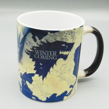 Drop shipping Game of Thrones Magic mugs Stark Arryn Lannister Coffee Mug Color Changing Ceramic Cup surprise gift
