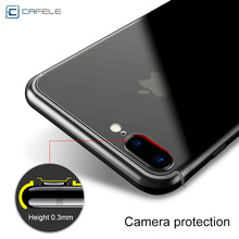 CAFELE Transparent Case For Iphone 6 Case Luxury Silicone Soft TPU Back Cover Case For Iphone 6S 7 Plus Iphone Case Capinha