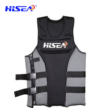 Hisea adult lifejacket Swim Kayak Lifesaving Vest Buoyancy Aid Sailing Kayak Drifting size xs to 3xl(China)