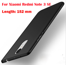 Luxury Hard Plastic Matte Case for Xiaomi Redmi Note 3 Pro Se Special Edition Cover For Redmi Note 3 Pro Prime Global Version