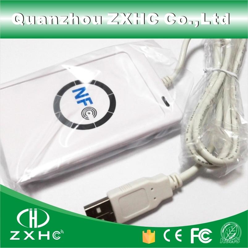 ACR122U USB NFC Card Reader Writer for ISO14443 Protocol S50 UID Ntag213 Ntag215 Ntag216<br>