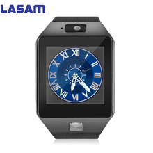Smart Watch dz09 Camera Bluetooth Phone WristWatch SIM Card Smartwatch For Ios Android Phones Support Multi languages men women(China)