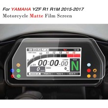 KEMiMOTO YZF R1 R1M 2017 accessories Cluster Scratch Speedometer Film Screen Protector For YAMAHA R1 YZF-R1 R1M 2015 2016 2017(China)